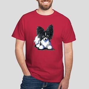B/W Papillon Dark T-Shirt