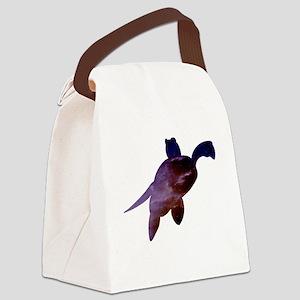 Galaxy Turtle #1 Canvas Lunch Bag