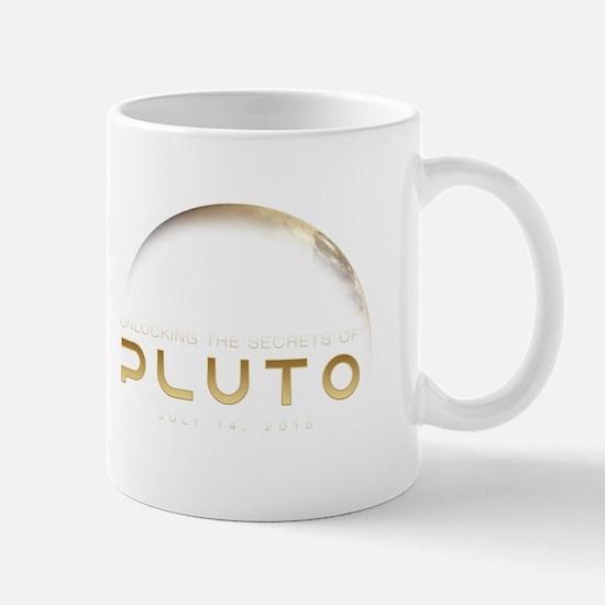 Pluto White Mugs