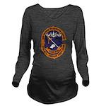 USS GEORGE WASHINGTO Long Sleeve Maternity T-Shirt