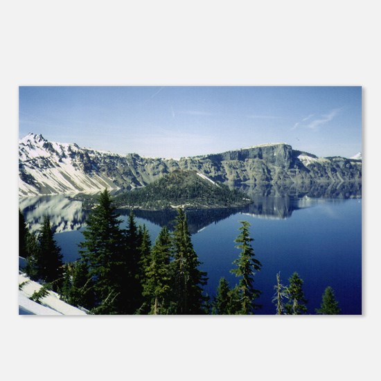 Funny Crater lake Postcards (Package of 8)