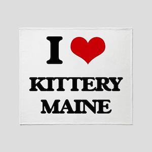 I love Kittery Maine Throw Blanket