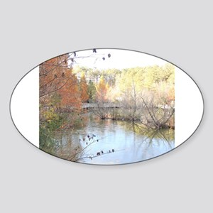 Reflections Across the Pond Sticker