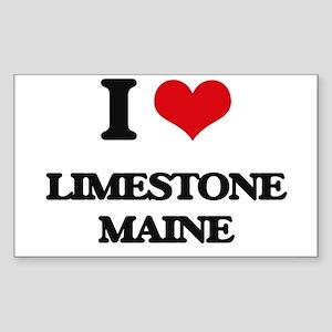 I love Limestone Maine Sticker