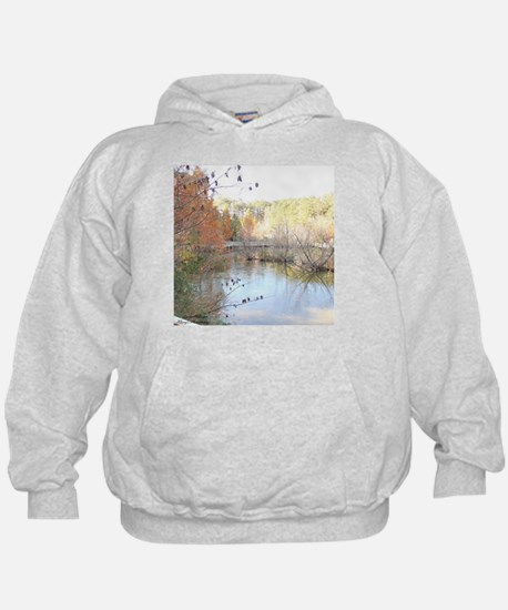Reflections Across the Pond Hoodie