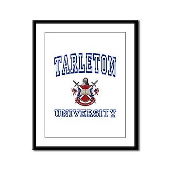 TARLETON University Framed Panel Print