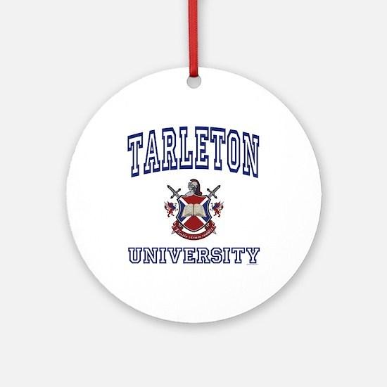 TARLETON University Ornament (Round)