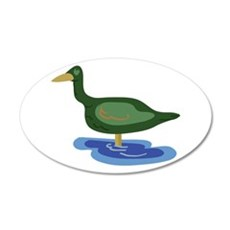Duck Puddle Wall Decal