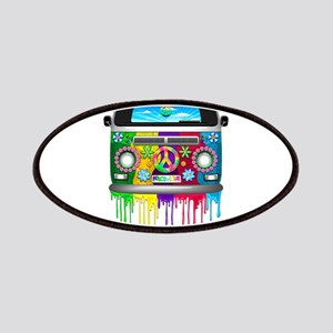 Hippie Van Dripping Rainbow Paint Patch