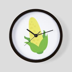 Corn Husk Wall Clock