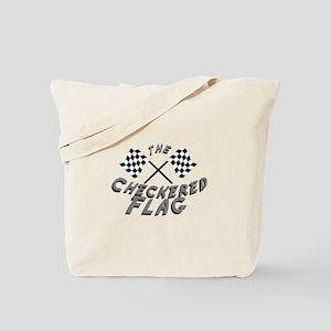 The Checkered Flag Tote Bag