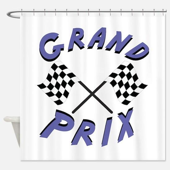 Grand Prix Shower Curtain