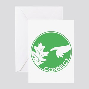 Connect With Nature Greeting Card