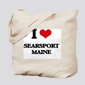 I love Searsport Maine Tote Bag