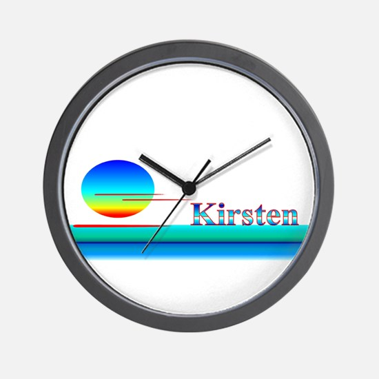 Kirsten Wall Clock