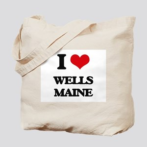 I love Wells Maine Tote Bag