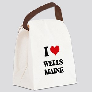 I love Wells Maine Canvas Lunch Bag