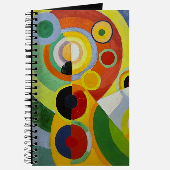 Colorful Abstract Painting Journal