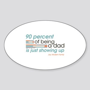 Modern Family Being a Dad Sticker (Oval)