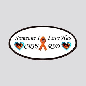 Someone I Love Has CRPS RSD Ribbon Fire & Ic Patch