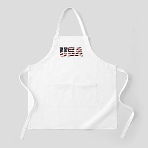 USA Flag Logo Apron