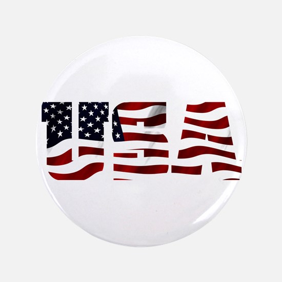 "USA Flag Logo 3.5"" Button"