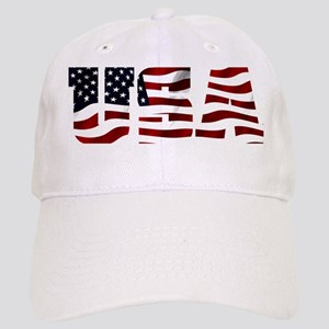 USA Flag Logo Cap