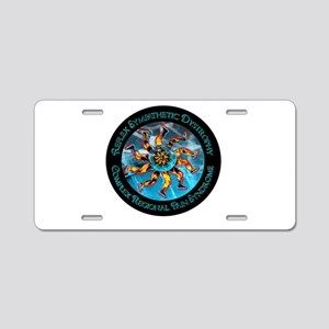 CRPS/RSD Awareness FIre & I Aluminum License Plate