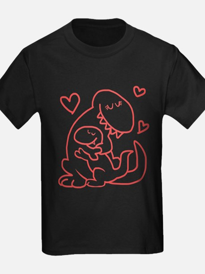 Hugging Dinos T-Shirt