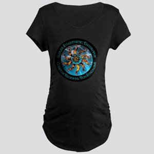 CRPS/RSD Awareness FIre & Ice le Maternity T-Shirt