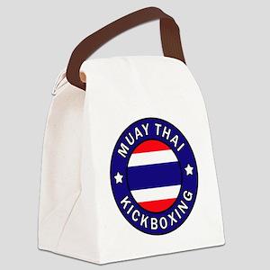 Muay Thai Canvas Lunch Bag