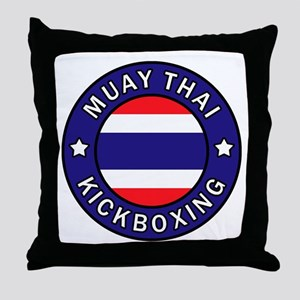 Muay Thai Throw Pillow