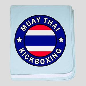 Muay Thai baby blanket