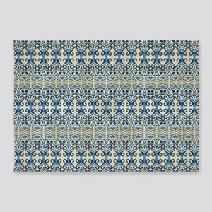 Indigo Ocean Tropical Beach Caribbe 5'x7'Area Rug