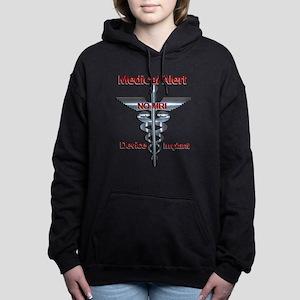 Medical Alert - Device Women's Hooded Sweatshirt