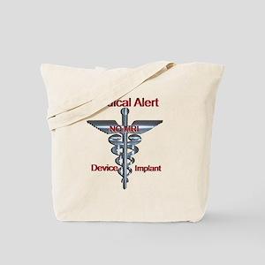 Medical Alert - Device Implant NO MRI M Tote Bag
