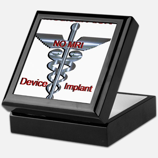 Medical Alert - Device Implant NO MR Keepsake Box