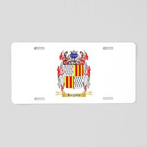 Knightley Aluminum License Plate