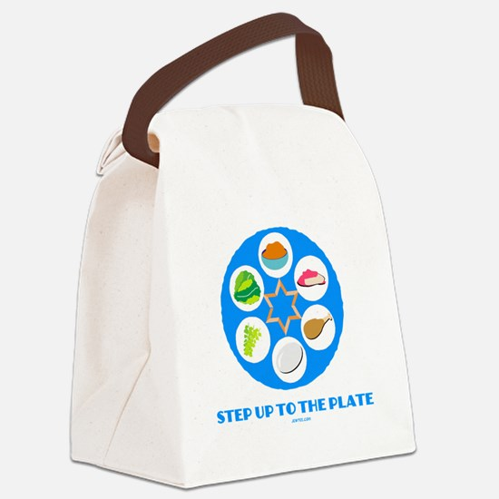 Step Up To Plate Passover Canvas Lunch Bag