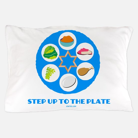 Step Up To Plate Passover Pillow Case