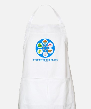 Step Up To Plate Passover Apron