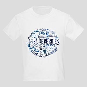 Word Cloud - Logo Back Kids Light T-Shirt