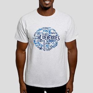 Word Cloud - Logo Back Light T-Shirt