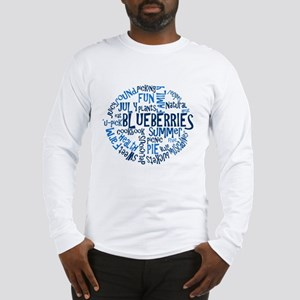 Word Cloud - Logo Back Long Sleeve T-Shirt