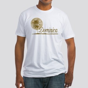 Palm Tree Dominica Fitted T-Shirt
