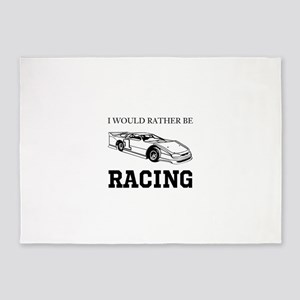 Rather Be Racing 5'x7'Area Rug