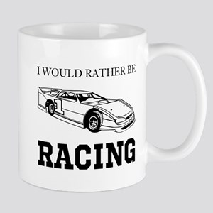 Rather Be Racing Mugs