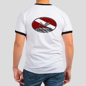 Dive Instructor (Oval) Ringer T