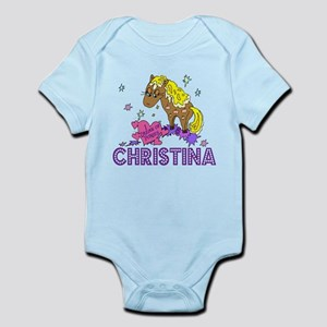 I Dream Of Ponies Christina Infant Bodysuit