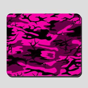 Alien Pink Camo Mousepad
